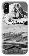 Norwegian Winter Mountain Cabin IPhone Case