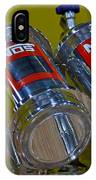 Nos Bottles In A Racing Truck Trunk IPhone Case