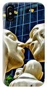 Nose To Nose In Montreal IPhone Case