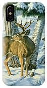 Not This Year - Mule Deer IPhone X Case