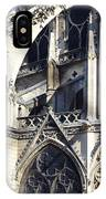 Notre Dame Cathedral Architectural Details IPhone Case