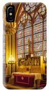 Notre Dame Chapel IPhone Case