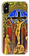 Notre Dame Color IPhone Case