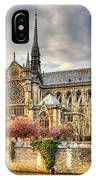 Notre Dame De Paris Cathedral IPhone Case