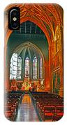 Notre Dame Of Luxembourg IPhone Case