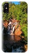 Nova Scotia Water Falls IPhone Case