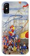Novelties At The Carnival IPhone Case