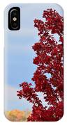 November Red IPhone Case