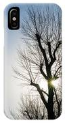 November Sunset IPhone Case