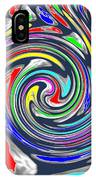 Novino Signature Art Walking Fine Lines Twirl Background Designs  And Color Tones N Color Shades Ava IPhone Case