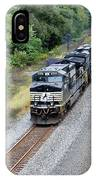 Ns 9629 Lead Intermodal IPhone Case