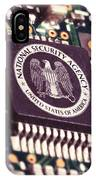 Nsa Computer Chip IPhone Case