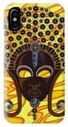 Nubian Modern Afro Mask IPhone Case