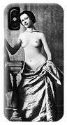 Nude And Curtains, C1850 IPhone Case
