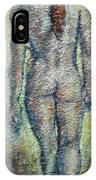 Nude Brunet IPhone Case