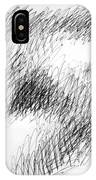 Nude Female Abstract Drawings 1 IPhone Case