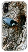 Nuthatch Love IPhone Case