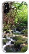 Banyan Nuuanu Stream IPhone Case