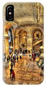 Ny Library Foyer IPhone Case