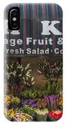 Nyc Flower Shop IPhone Case