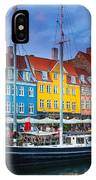 Nyhavn Canal IPhone Case