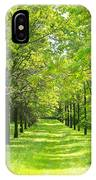 Oak Allee IPhone Case