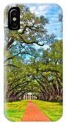 Oak Alley 3 Oil IPhone Case
