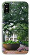 Oak Alley Courtyard IPhone Case