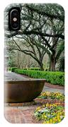Oak Alley Landscape In Vacherie Louisiana IPhone Case