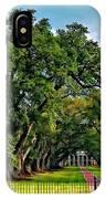 Oak Alley Plantation 2 IPhone Case