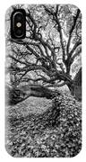Oak And Ivy Bw IPhone Case