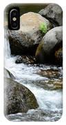 Oak Creek Water And Rocks IPhone Case