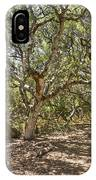 Oak Forest - The Magical And Mysterious Trees Of The Los Osos Oak Reserve IPhone Case