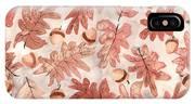 Oak Leaves And Acorns IPhone Case