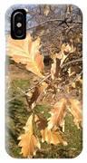 Oak Leaves IPhone Case