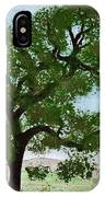 Oak Tree Landscape IPhone Case