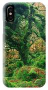 Oak Trees In A Forest, Wistmans Wood IPhone Case