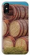 Oak Wine Barrels IPhone Case