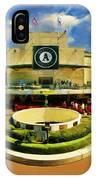 Oakland A's Coliseum IPhone Case
