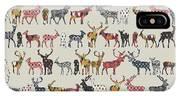 Oatmeal Spice Deer IPhone Case