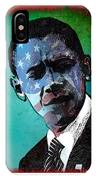 Obama-4 IPhone Case