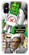 Obama Care Frankenstein Balloon IPhone Case