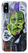 Obama The Grinch IPhone Case