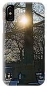 Obelisk Of Fire IPhone Case