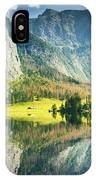 Obersee In Bavaria IPhone Case