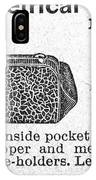 Obstetrical Bag, C1900 IPhone Case