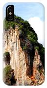 Ocean Wall- Phi Phi Island - Krabi Thailand- Viator's Agonism IPhone X Case