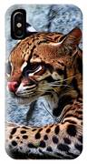 Ocelot Painted IPhone Case