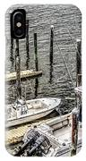 Ocnj Boats At Marina IPhone Case