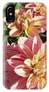 October Dahlia Field IPhone Case